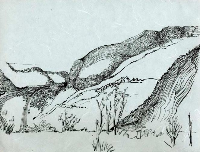 Le dessin des montagnes la revue des ressources - Dessin de montagne ...