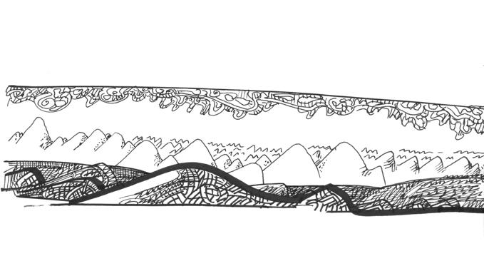 comment dessiner des vagues